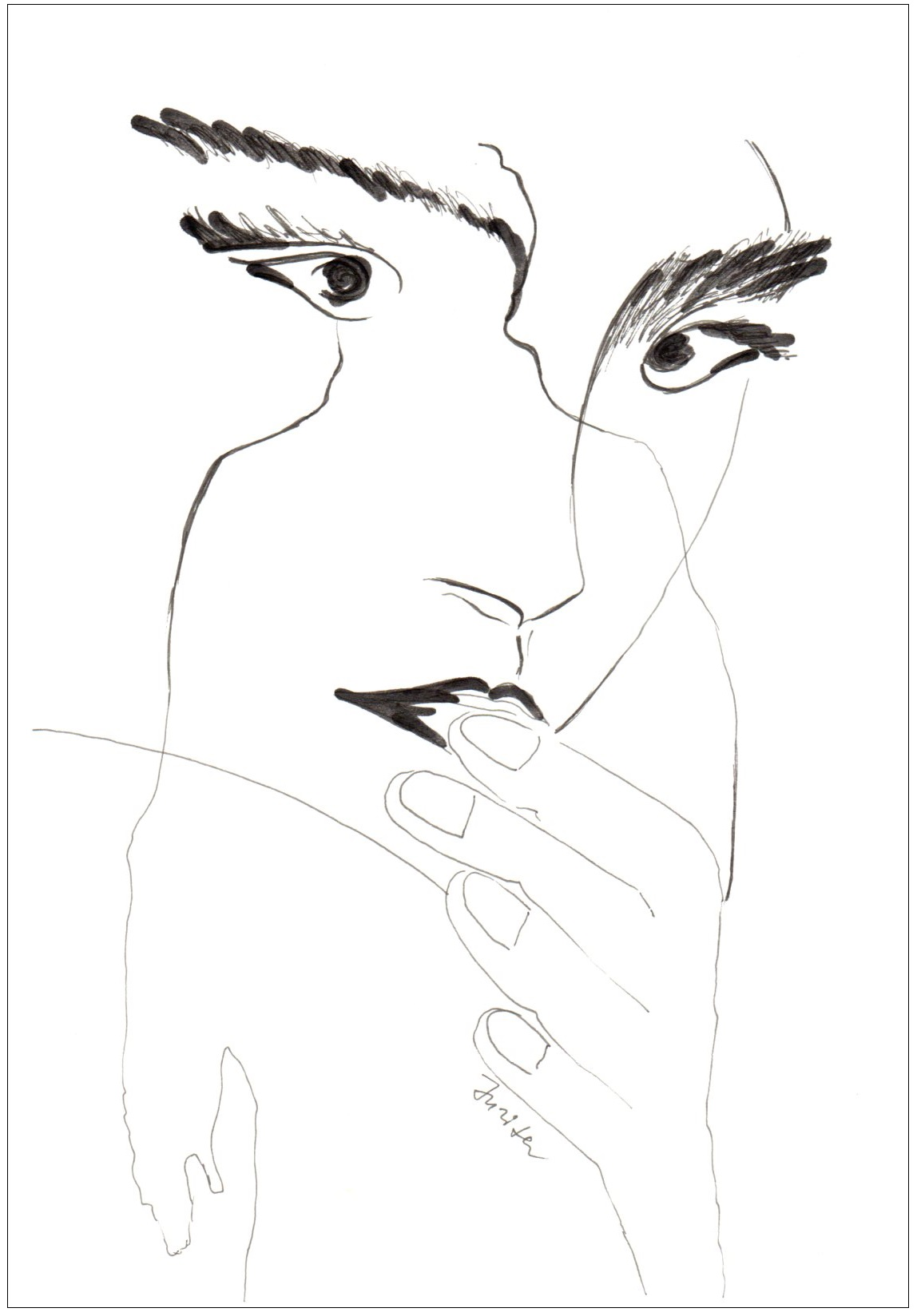 2 Love Story-jurita-2020-black ink (2)