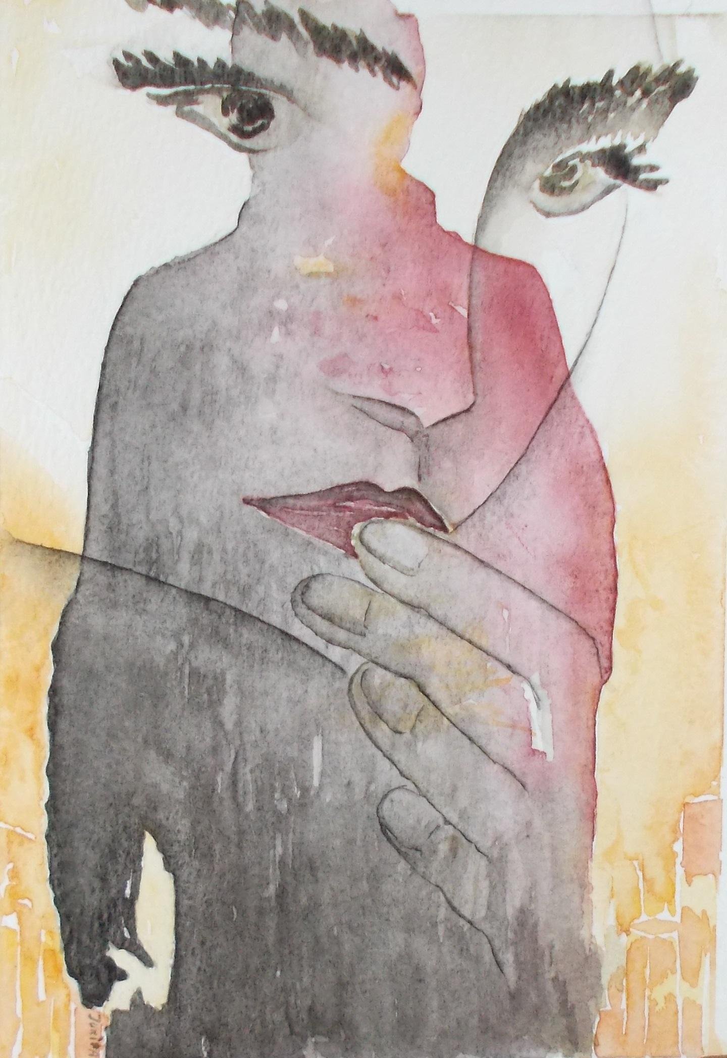 Eternal Love, Jurita Kalite, 2017, watercolor
