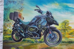 Harshavardhan Rane Motorbike-jurita-2019-oil on canvas - 60 x 80cm (9)-1