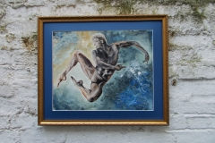 Horoscopes-Series-Aquarius-The-Water-Bearer-Jan 20-Feb 18-Jurita-2019-3D-Relief-Sculpture-mixed-media-acrylic-clay-40x50cm (3)