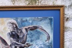 Horoscopes-Series-Aquarius-The-Water-Bearer-Jan 20-Feb 18-Jurita-2019-3D-Relief-Sculpture-mixed-media-acrylic-clay-40x50cm (6)