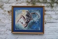 Horoscopes-Series-Aquarius-The-Water-Bearer-Jan 20-Feb 18-Jurita-2019-3D-Relief-Sculpture-mixed-media-acrylic-clay-40x50cm (9)