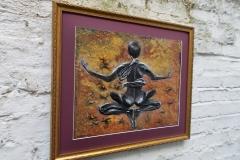 Scorpio-The-Scorpion-Oct 23-Nov 21-Jurita-2019-Painting Relief 3D-mixed-media-acrylic-clay-40x50cm© (11)