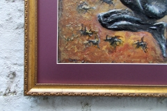 Scorpio-The-Scorpion-Oct 23-Nov 21-Jurita-2019-Painting Relief 3D-mixed-media-acrylic-clay-40x50cm© (13)