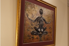 Scorpio-The-Scorpion-Oct 23-Nov 21-Jurita-2019-Painting Relief 3D-mixed-media-acrylic-clay-40x50cm© (7)