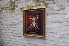 Taurus-The-Bull-Apr 20-May 20-Jurita-2019-Painting Relief 3D-mixed-media-acrylic-clay-gilded-40x50cm (4)