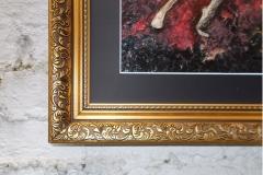 Taurus-The-Bull-Apr 20-May 20-Jurita-2019-Painting Relief 3D-mixed-media-acrylic-clay-gilded-40x50cm (6)