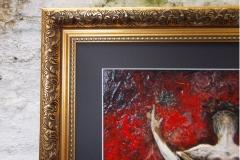 Taurus-The-Bull-Apr 20-May 20-Jurita-2019-Painting Relief 3D-mixed-media-acrylic-clay-gilded-40x50cm (7)