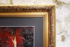 Taurus-The-Bull-Apr 20-May 20-Jurita-2019-Painting Relief 3D-mixed-media-acrylic-clay-gilded-40x50cm (8)