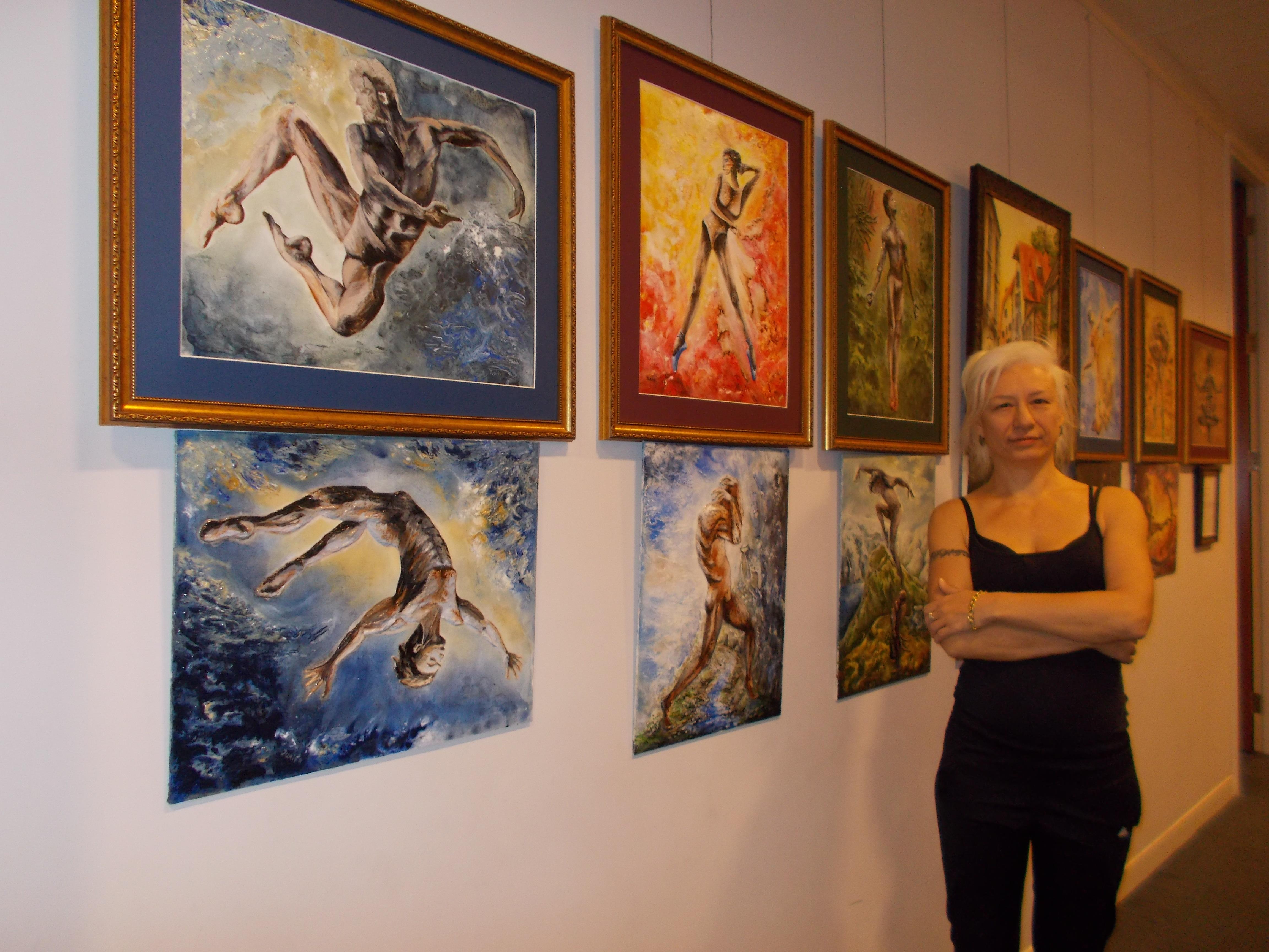 4 jurita-art and basketball- exhibition 12-22 november 2019 in Rossotrudnichestvo London (2)
