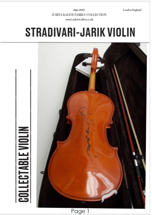 cataloque-STRADIVARI-JARIK VIOLIN © 2018 Jurita Kalite (page 1)