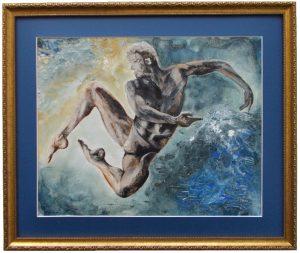 Aquarius: The Water Bearer (Jan 20-Feb 18) - 3D painting by Jurita